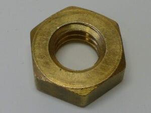 407-47 SPS - LOCK NUT BRASS