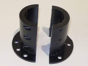 122795 SPS - COLLAR FLANGE CLAMP (2 PC/PART)