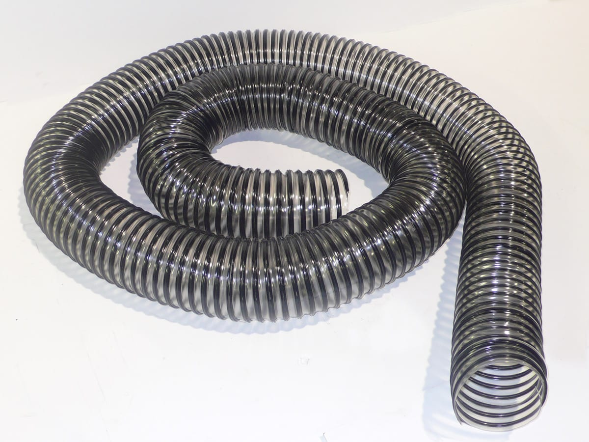"13062 SPS - HOSE 8"" X 25 FT CLEAR"